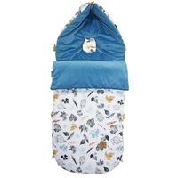Śpiworek do wózka Blue Goldenprint Velvet L/XL (1-3 Lat Lanila wyprawka dla dziecka