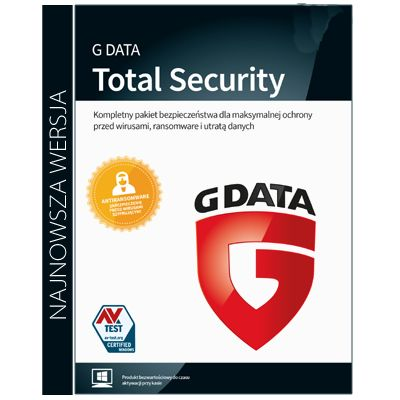 G Data Total Security Protection 3PC / 3Lata na Arena.pl