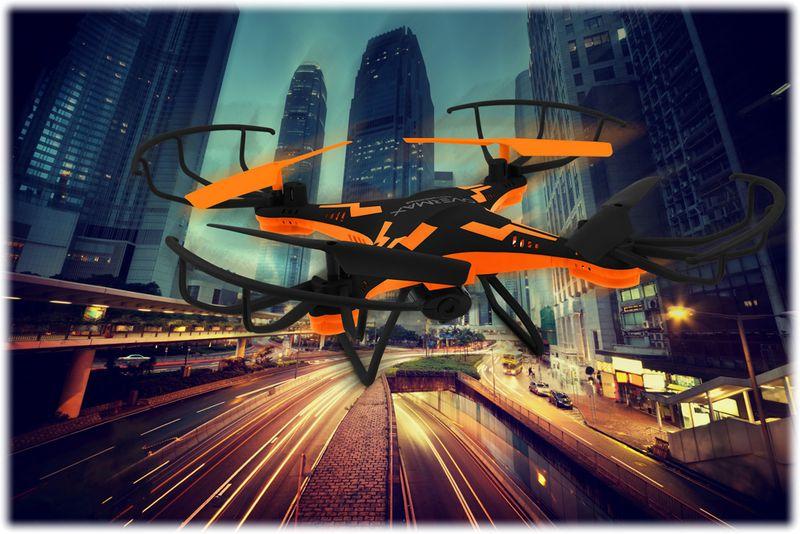 DRON OVERMAX X Bee Drone 3.1 WiFi KAMERA FPV LED zdjęcie 4