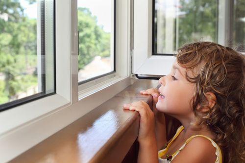 Blokada okienna Zabezpieczenie okna dzieci Uchylenie na kluczyk Linka na Arena.pl