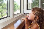 Blokada okienna SREBRNA Zabezpieczenie okna dzieci Uchylenie kluczyk zdjęcie 10