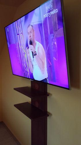 MASKOWNICA LCD TV OSŁONA KABLI PÓŁKA POD TV na Arena.pl