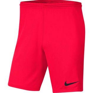 Spodenki dla dzieci Nike Dry Park III NB K jasnoczerwone BV6865 635
