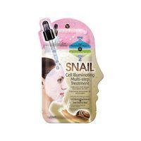 Snail Cell Illuminating Multi-Step Treatment dwuetapowy zabieg rozświetlający 20ml