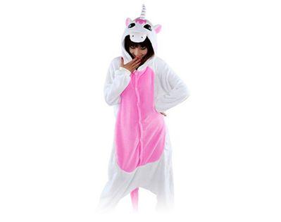 Rózowy jednorożec Kigurumi Onesie dres piżama kombinezon S