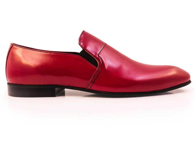 Czerwone wsuwane buty męskie F42 Rozmiar Obuwia - 40 zdjęcie 1
