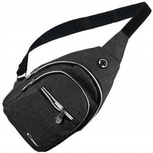 Saszetka nerka przez ramię na przód torba plecak