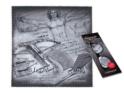 Ściereczka do okularów - L. da Vinci, Kolaż (CARMANI)