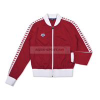 ARENA BLUZA ROZPINANA WOMAN RELAX IV TEAM JACKET ICONS RED-WHITE-RED S