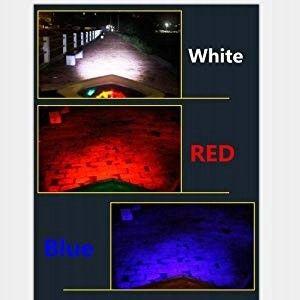 Wielobarwna żarówka motocyklowa BA20D H6 CREE LED 3 kolory 9W
