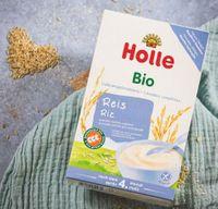 Holle Kaszka ryżowa pełnoziarnista Bio 4 miesiącu 250 g