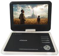 PRZENOŚNE DVD SAMOCHODOWE VORDON 10.2C USB SD GRY