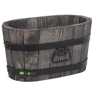 Drewniana donica kwietnik 40x22x21 cm Palisander