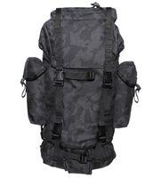 Duży plecak BW turystyczny 65 l night-camo