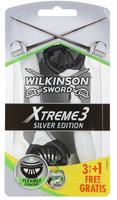 WILKINSON Sword Xtreme3 Silver Edition 6+2szt - maszynka do golenia