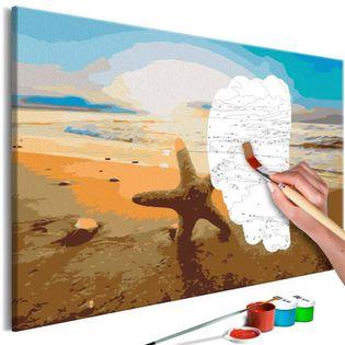Obraz do samodzielnego malowania - Morskie znaleziska