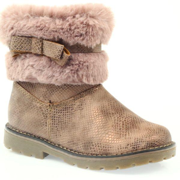 2eda8c61 American kozaki buty zimowe z futrem17042 r.26 • Arena.pl