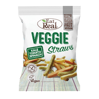 EAT REAL Paluszki ziemniaczane z warzywami 45g EAT REAL