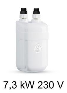 Podgrzewacz wody DAFI 7,3 kW 230 V - termoelement z nyplami