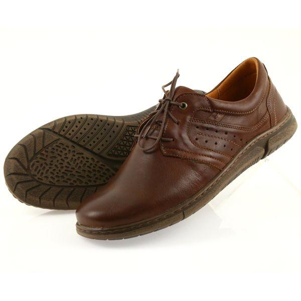 Riko półbuty buty męskie brązowe 870 r.41 zdjęcie 5