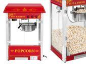 Maszyna do popcornu amerykański design Royal Catering RCPS-16.3