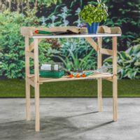 Lumarko Stół do sadzenia roślin, 82x38x78 cm