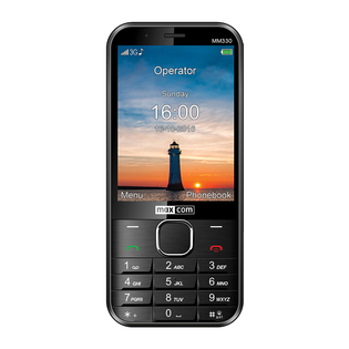 TELEFON KOMÓRKOWY MAXCOM MM330 3.2' 3G APARAT 5MPx