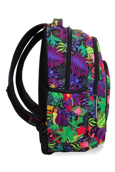Dwukomorowy plecak szkolny CoolPack Strike L 27L, Jungle B18041 zdjęcie 2