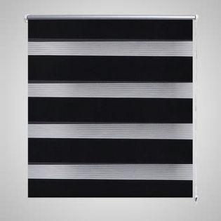 Roleta Zebra (50 x 100 cm) Czarna