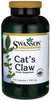 Vilcacora koci pazur (Cat's claw) 500mg 250 kapsułek SWANSON