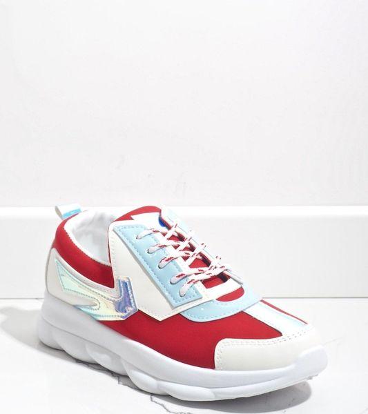 Białe sneakersy sportowe damskie W-3112 41 zdjęcie 1
