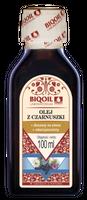 Olej z czarnuszki z czarnego kminu tłoczony na zimno nierafinowany 100ml BIOOIL