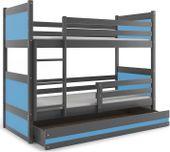 Łóżko łóżka dla dzieci Rico piętrowe dziecięce 160x80 + SZUFLADA