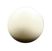 Piłka rusałka do żonglowania - 8 cm - biała