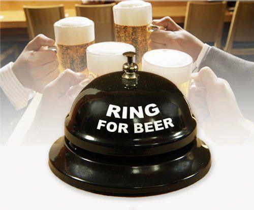 Biurkowy dzwonek na piwo zdjęcie 2