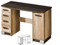 Biurko RIVIERA R15, szuflady, arusha, gwarancja jakości