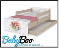 Łóżko dziecięce MAX BABY BOO 200X90 szuflada barierki Disney WZORY!!