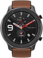 Smartwatch AMAZFIT GTR 47mm Aluminium Alloy (Czarno-Brązowy)
