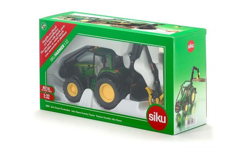 Siku Traktor leśny John Deere zdjęcie 8