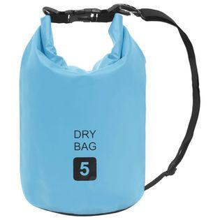 Lumarko Worek wodoszczelny, niebieski, 5 L, PVC