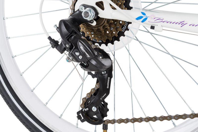 Rower 24 KANDS LAGUNA VS-2 stożek biało-fioletowy zdjęcie 11