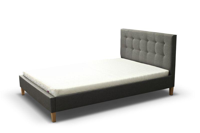 Łóżko tapicerowane DAWID 160X200 + STELAŻ+MATERAC zdjęcie 8