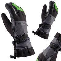 Rękawice narciarskie VIKING RAZOR FREERIDE czarno-limonkowe 8