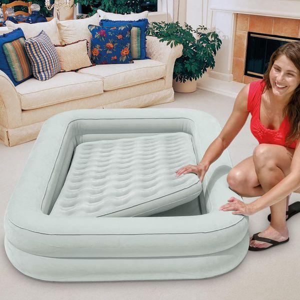 Intex Materac dmuchany Kidz Travel Bed Set, 107x168x25 cm, 66810NP zdjęcie 5