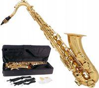 Saksofon tenorowy bb, b fis mtst0011g m-tunes złot