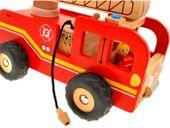 WIELKA Straż Pożarna wóz strażacki DREWNO ZA1809 zdjęcie 4