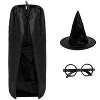 Zestaw Czarodziej: peleryna, kapelusz, okulary Harry Potter