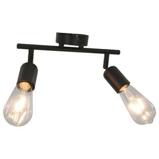 LAMPA OŚWIETLENIE KINKIET SUFITOWA 2 REFLEKTORY