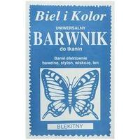 Barwnik do tkanin farba z motylem BŁĘKITNY