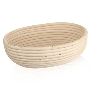 Koszyk do wyrastania chleba rattanowy 28x22x9 cm